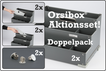 Orsibox ® Aktionsset - im Doppelpack