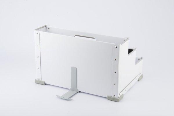 orsibox aufbewahrungsbox in weiss f r beifahrer und r cksitze ordnung am autositz. Black Bedroom Furniture Sets. Home Design Ideas